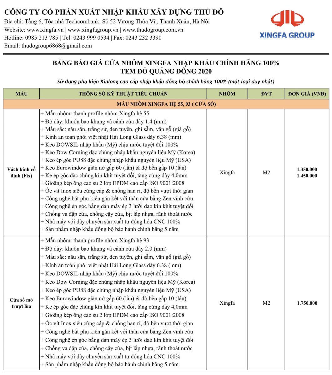Những giải đáp về cửa nhôm Xingfa nhập khẩu chính hãng - 1